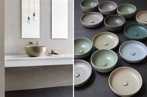 coloured bathroom basins 4 key bathroom trends for 2015 design hunter
