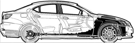 lexus is300 drawing car lexus is 350 2006 the photo thumbnail image of
