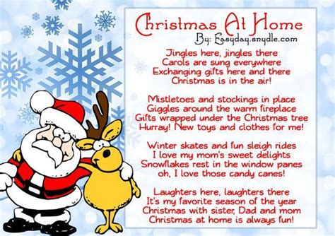 best christmas poems for kids poems easyday