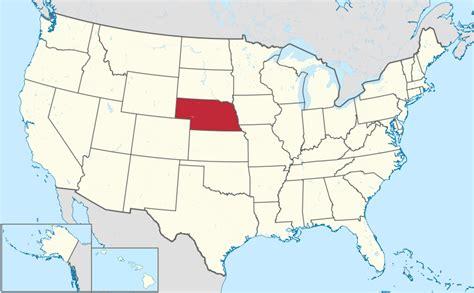 map usa nebraska file nebraska in united states svg wikimedia commons