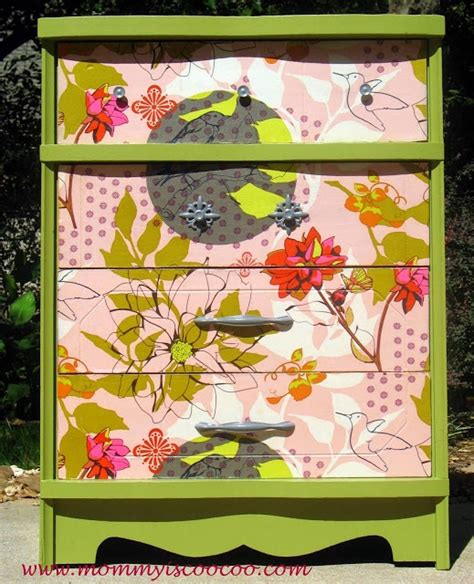 fabric decoupage dresser decoupage dresser with horner fabric