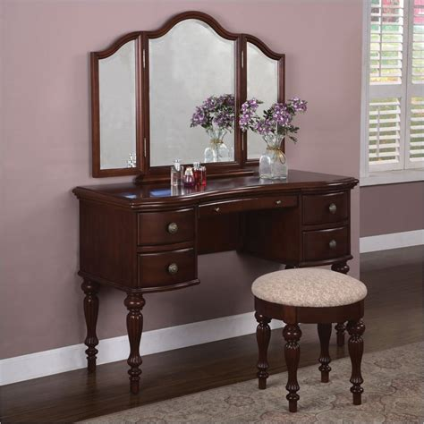 Vanity Desks With Mirror by Vanity Mirror Desk Home Furniture Design