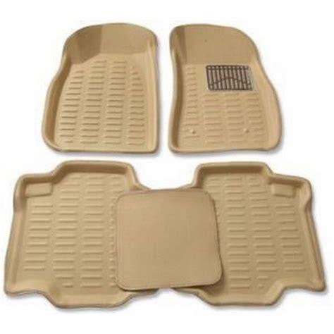 3d Foot Mat by Buy 3d Foot Mats For Maruti Suzuki Ciaz Beige Color Tgs 3d