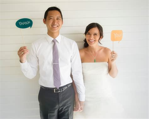 Wedding Holding Thank You Sign by Wedding Wednesdays Q A Thank You Speech