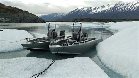 run up to knik glacier alaska 14 mini jet boat honda f15x - Honda Mini Jet Boat
