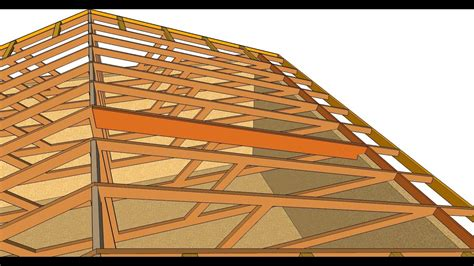 anatomy of a barrel tile roof how to turn flat engineered roof truss system into