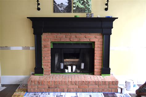 Sealing Brick Fireplace by Painting Or Sealing Bricks Fancy Home Design