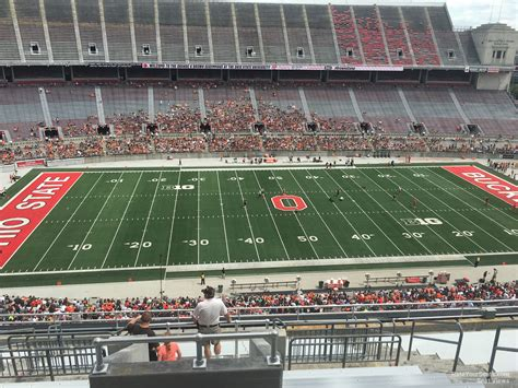What Is Section 17 by Ohio Stadium Section 17c Rateyourseats