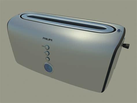 Toaster Software Philips Toaster 3d Model 3d Model Sharecg