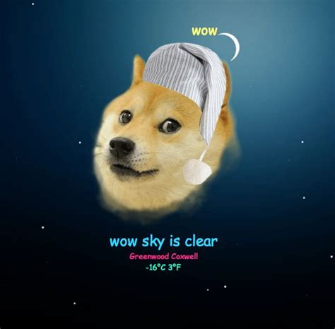Internet Dog Meme - internet dog weather forecasts doge meme
