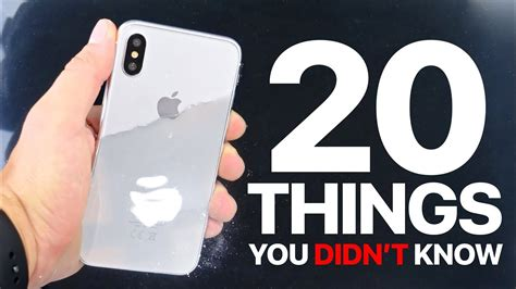 20 things you didn t know about your favorite classic hollywood iphone x 8 20 things you didn t know youtube