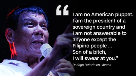 Hes The President In Residenthes Of In Cha 2 by President Duterte Of The Philippines Says He Personally