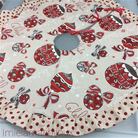 tappeto per albero di natale tappeto copri base albero di natale rosso ecr 249 feste