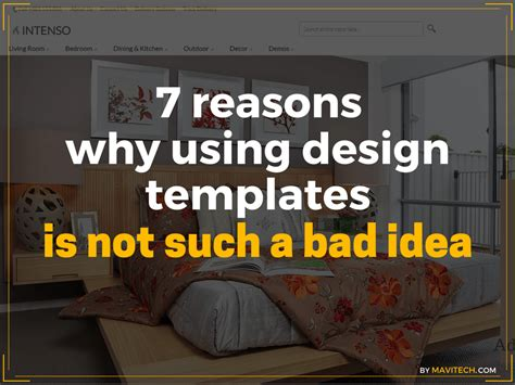 7 Reasons Why Is Horrible by 7 Reasons Why Using Design Templates Is Not Such A Bad