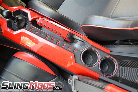 Foam For Chairs Personalized Foam Center Console For The Polaris Slingshot