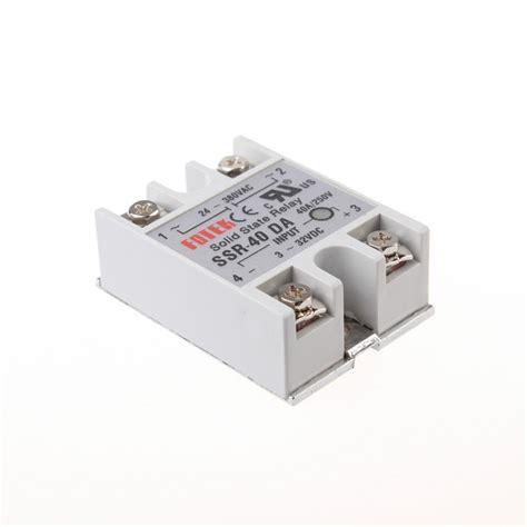 Ssr 40 Dah ssr 40 da solid state relay relais halbleiterrelais modul 24 380v 40a 3 32v 2p60 ebay