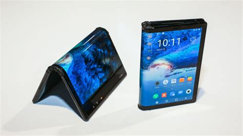 samsung foldable phone galaxy x samsung s foldable phone must learn from zte flexpai s mistakes cnet
