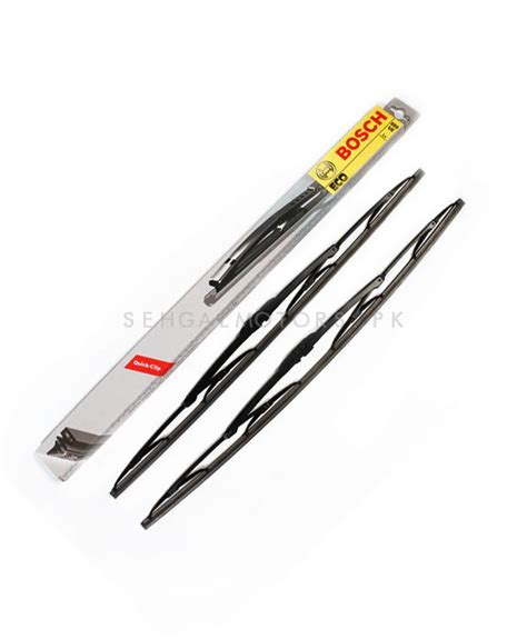 Toyota Fortuner Wiper Valeo Flat Blade Quality 20 22 buy bosch eco range wiper blade 19 inches each in pakistan