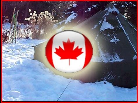 10 man canadian army arctic bell tent | how to make & do