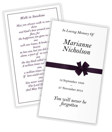 funeral prayer card template 2 5 x 4 25 card mockups cover actions premium mockup