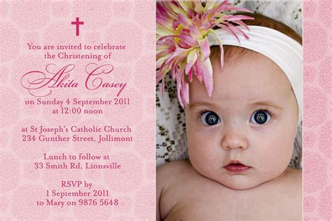 design layout of baptismal invitation baptism invitation wording baptism invitation wording