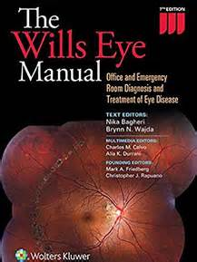 wills eye emergency room wills eye manual office and emergency room diagnosis and treatment of eye disease skyscape
