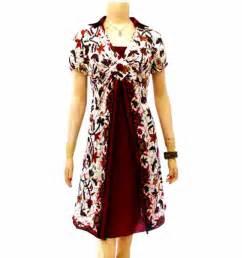 Baju batik koleksi terbaru batik fashion dress batik mini dress image