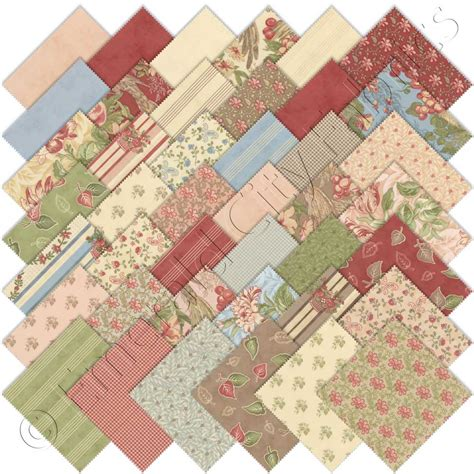 moda country orchard charm pack emerald city fabrics