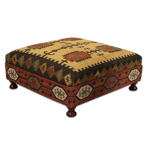 using ottoman as coffee table native american design cocktail coffee table ottoman