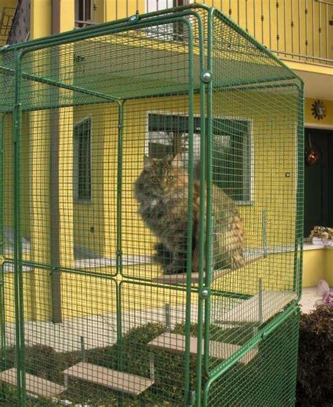 gabbia per gatti pianetto prendisole 485