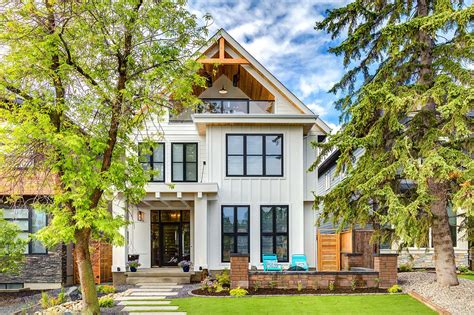 designer houses photos calgary home radiates with fresh modern farmhouse style