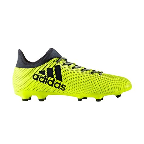 adidas x 17 3 adidas x 17 3 firm ground soccer cleats for men yellow