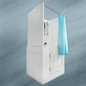 sitzbadewanne mit dusche allegro d senioren dusche sitzbadewanne sitzwanne