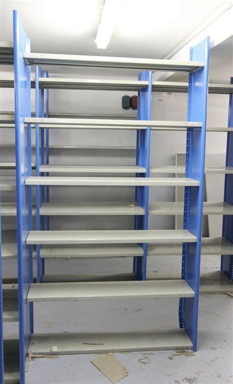 module detagere metallique gris et bleu turquoise - Etagere 100 Cm