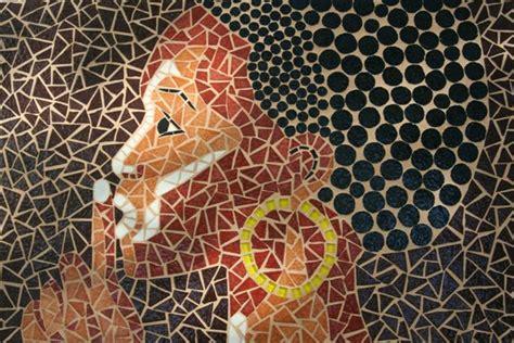 mosaiques murales album  florence olmi mosaique