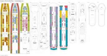 of the seas decks grandeur of the seas deck plans diagrams pictures