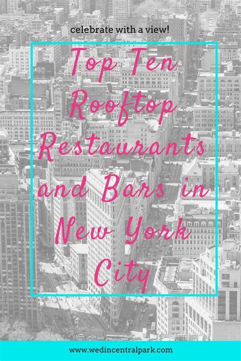 top ten bars in new york top ten rooftop restaurants and bars in new york city 2820440 weddbook