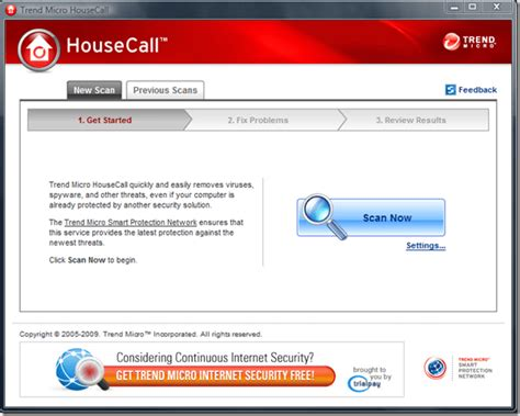 download pattern trend micro trtrend micro housecall free download downloada2z com