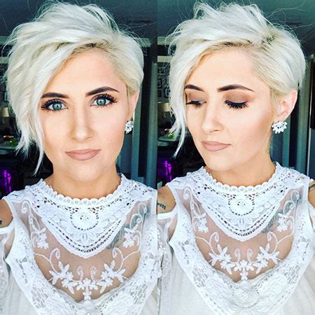 43 short platinum blonde hair color ideas – blonde
