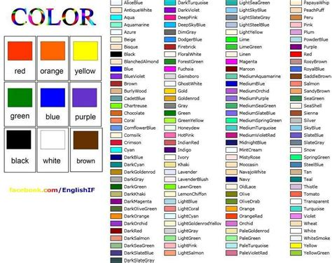 list of color basico1englisheoi unit 2b