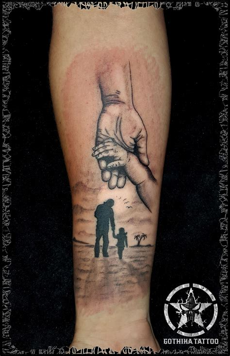 kid tattoos for dad tatoo