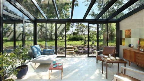 Impressionnant Amenager Un Salon Rectangulaire #4: 08037062-photo-salon-contemporain-veranda.jpg