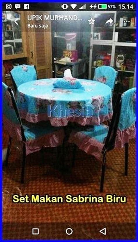 Set Taplak Meja Makan Maze Biru lagi nyari ukuran taplak meja makan 4 kursi jawabannya