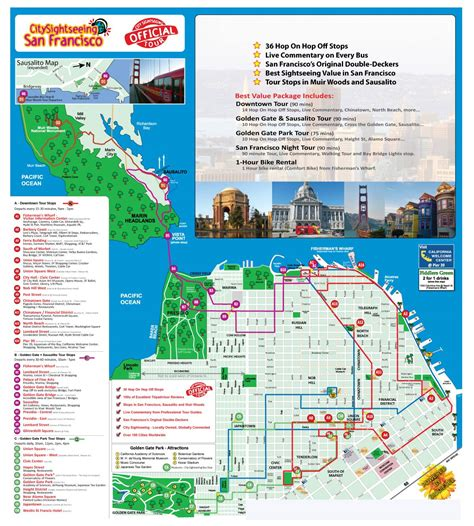 sausalito map tickets to hop on hop freestyle ticmate co uk