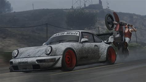 porsche hoonigan 1991 porsche 911 964 turbo hoonigan rauh welt hq add on