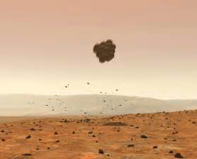 mars rover landing mission pics about space