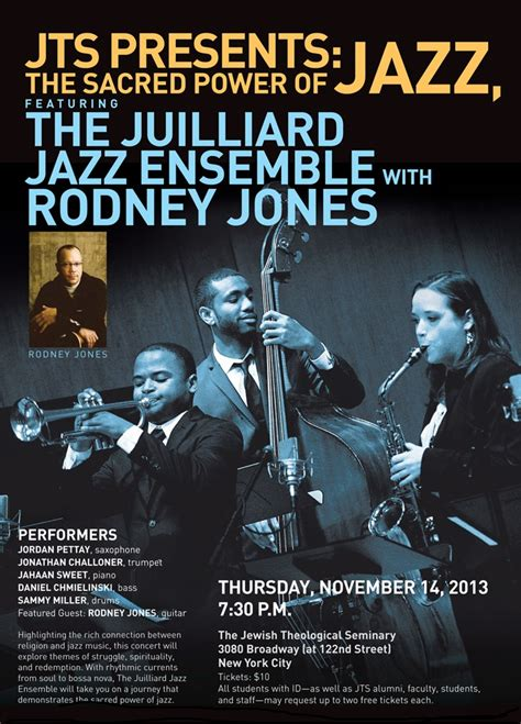 Cd Import Simon Wynberg Ensemble And Guitar Jazz Collection jts presents the sacred power of jazz featuring the juilliard jazz ensemble with rodney jones