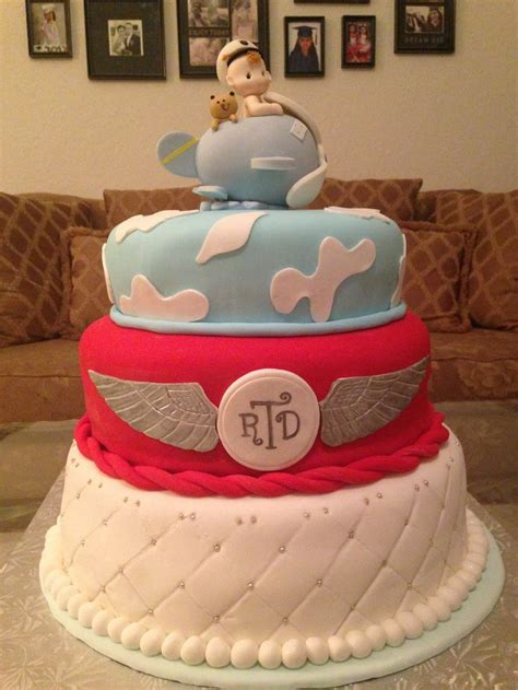 Airplane Baby Shower Ideas by Best 25 Airplane Baby Shower Cake Ideas On