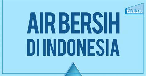Air Di Jakarta air bersih di indonesia tirto id