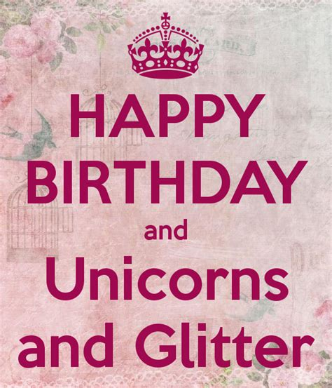 Unicorn Birthday Meme - unicorn birthday meme best 20 birthday wishes greetings
